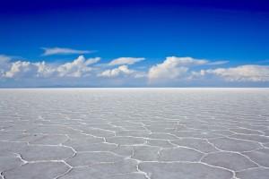 Salar de Uyuni hexágonos