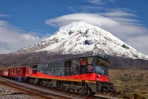 Tren delante del Chimborazo